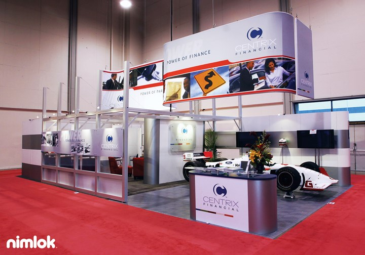 Centrix  - 30x40 - trade show exhibit