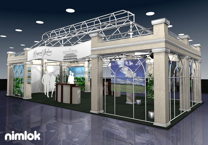 Longwood Gardens  - 20x40 - trade show exhibit