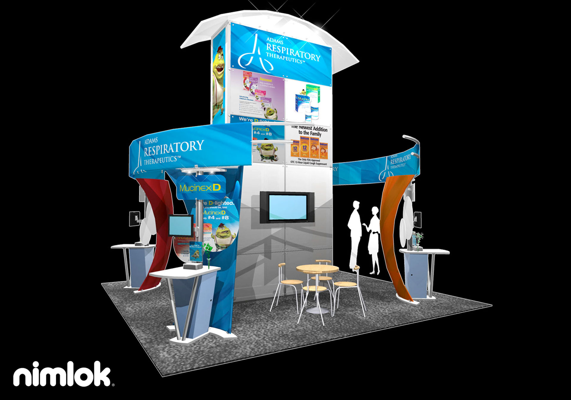 Adams - 20x40 - trade show exhibit