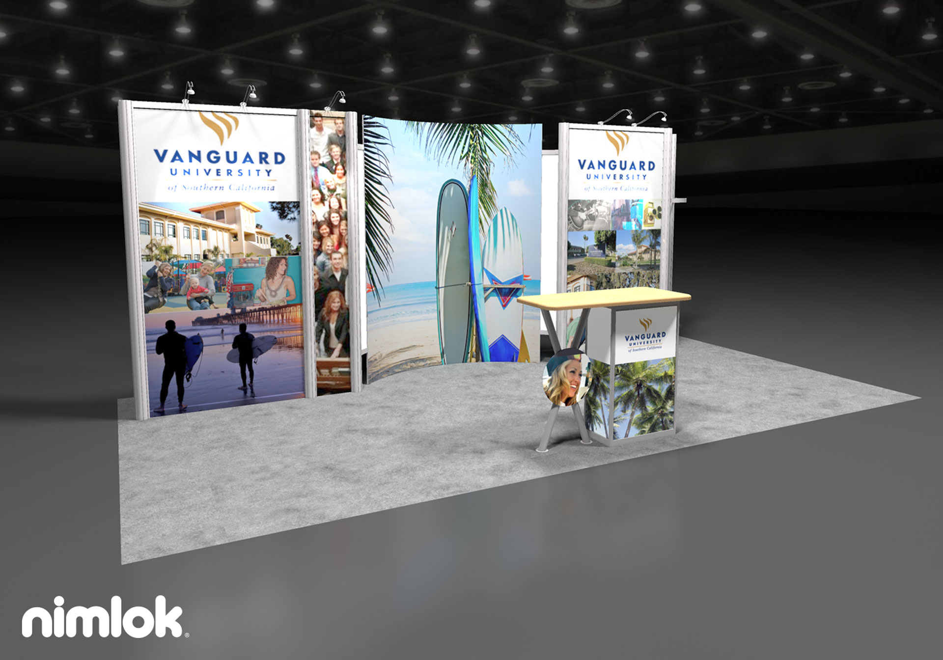 Vanguard University - 10x20 - trade show exhibit
