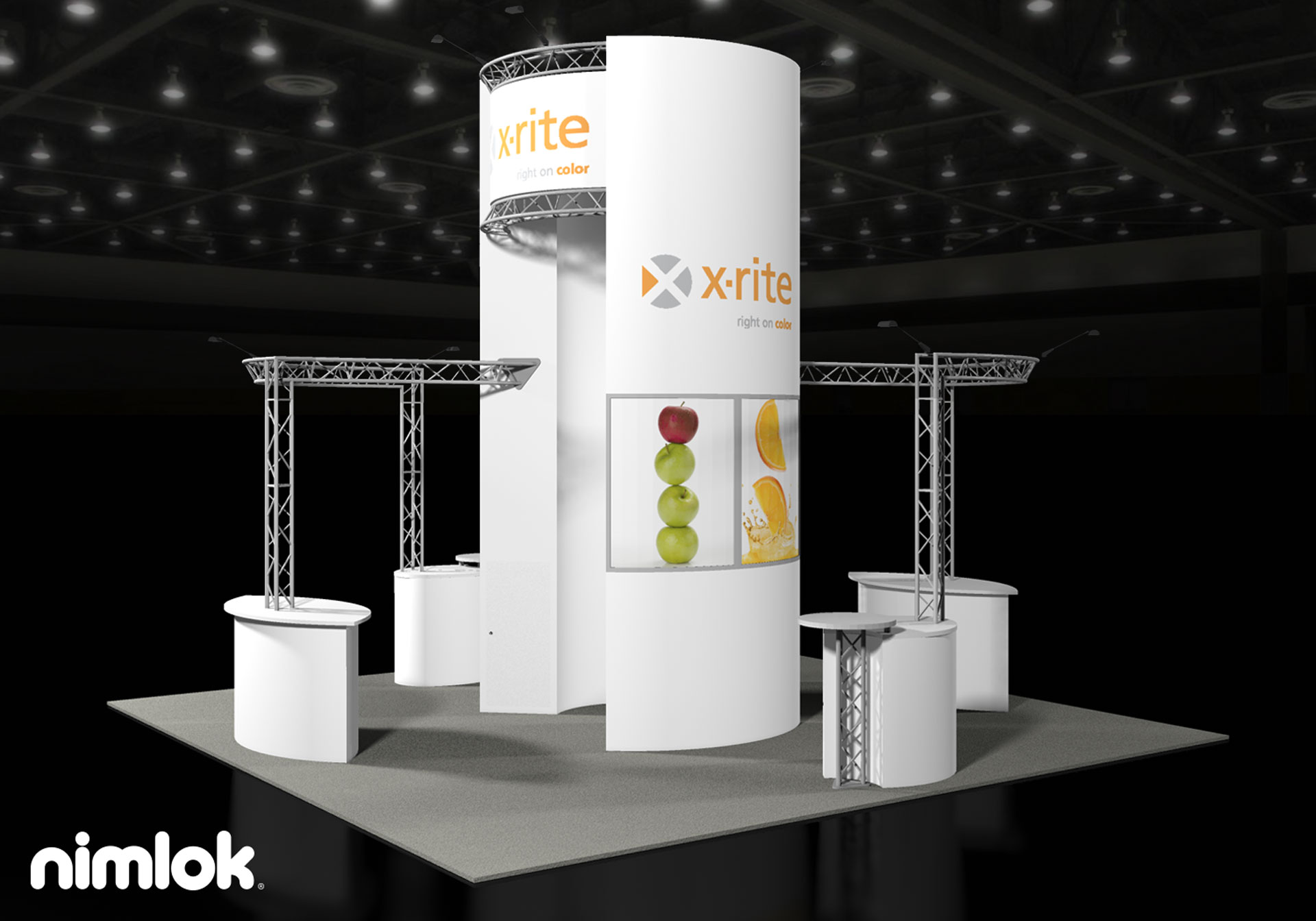 X-Rite  - 20x20 - trade show exhibit