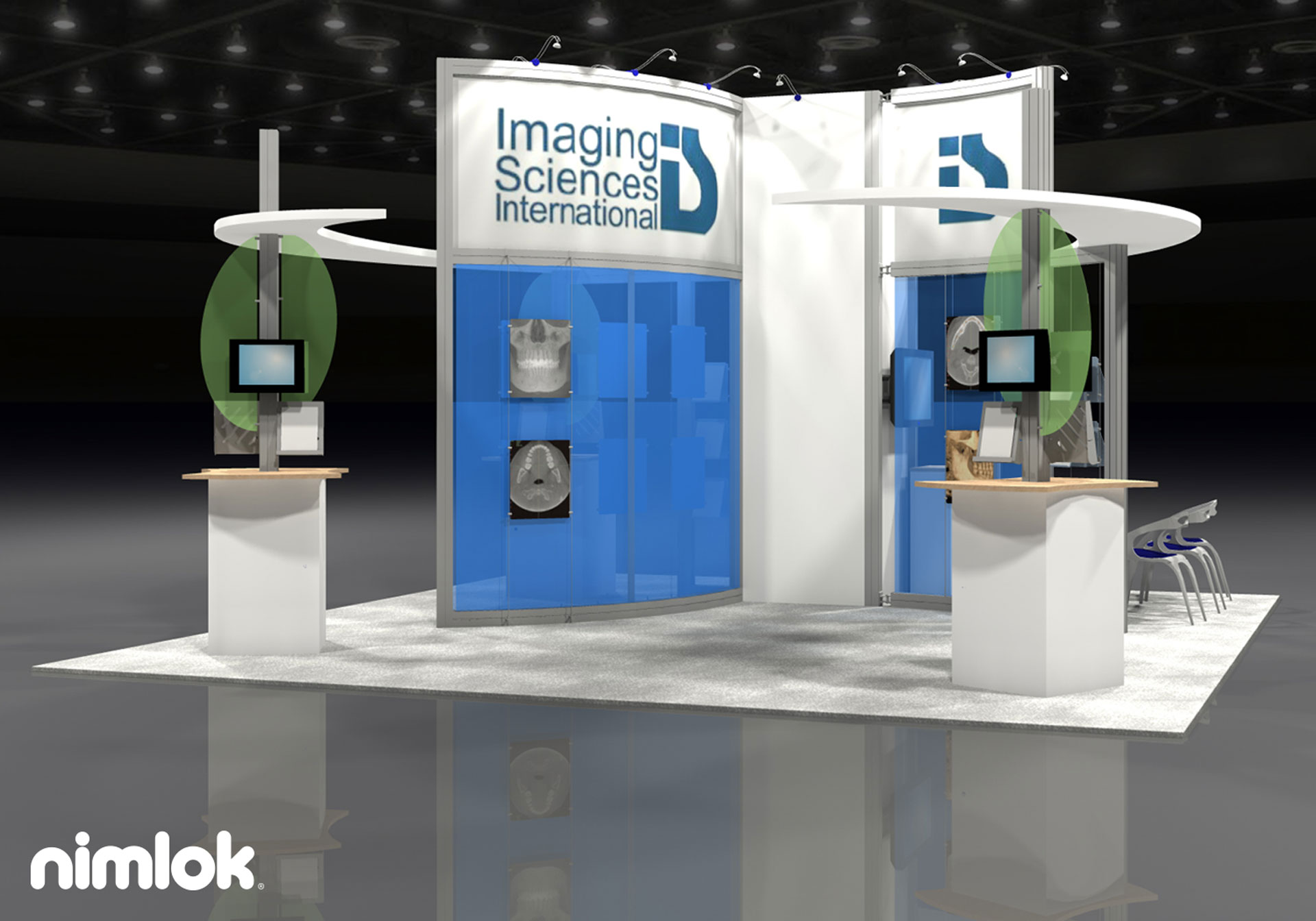 Imaging Sciences - 20x20 - trade show exhibit