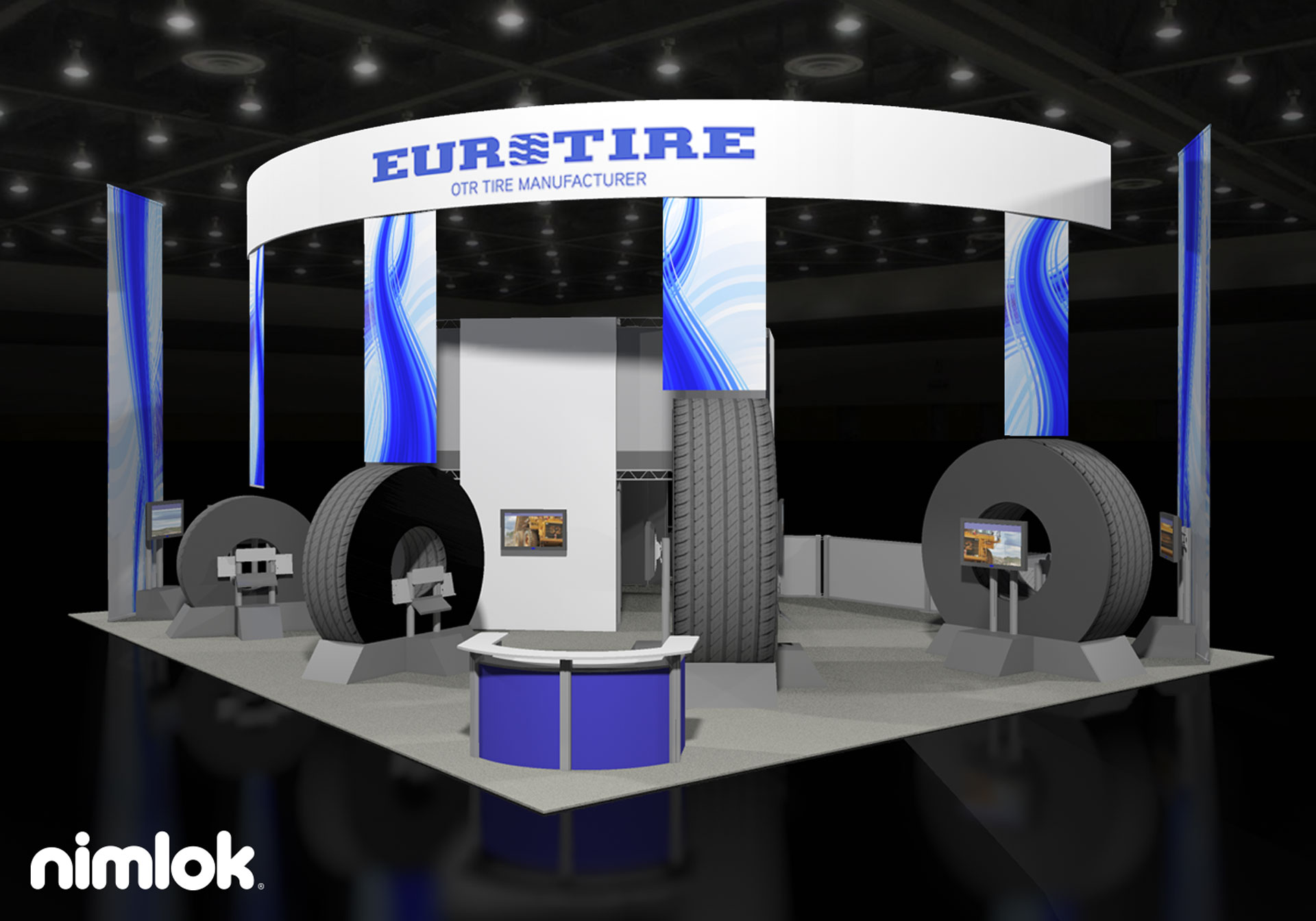 Euro Tire - Best Tire - 50x50 - trade show exhibit