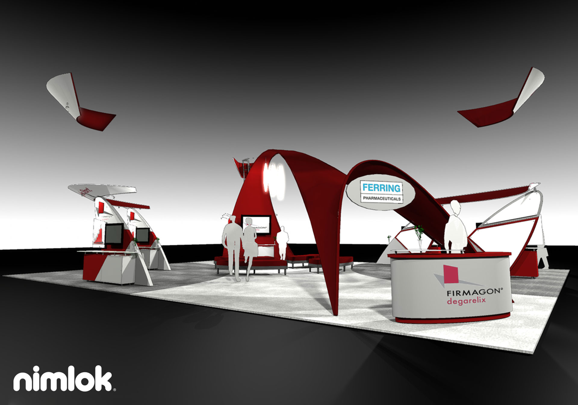 Ferring Pharmaceutical - 40x50 - trade show exhibit