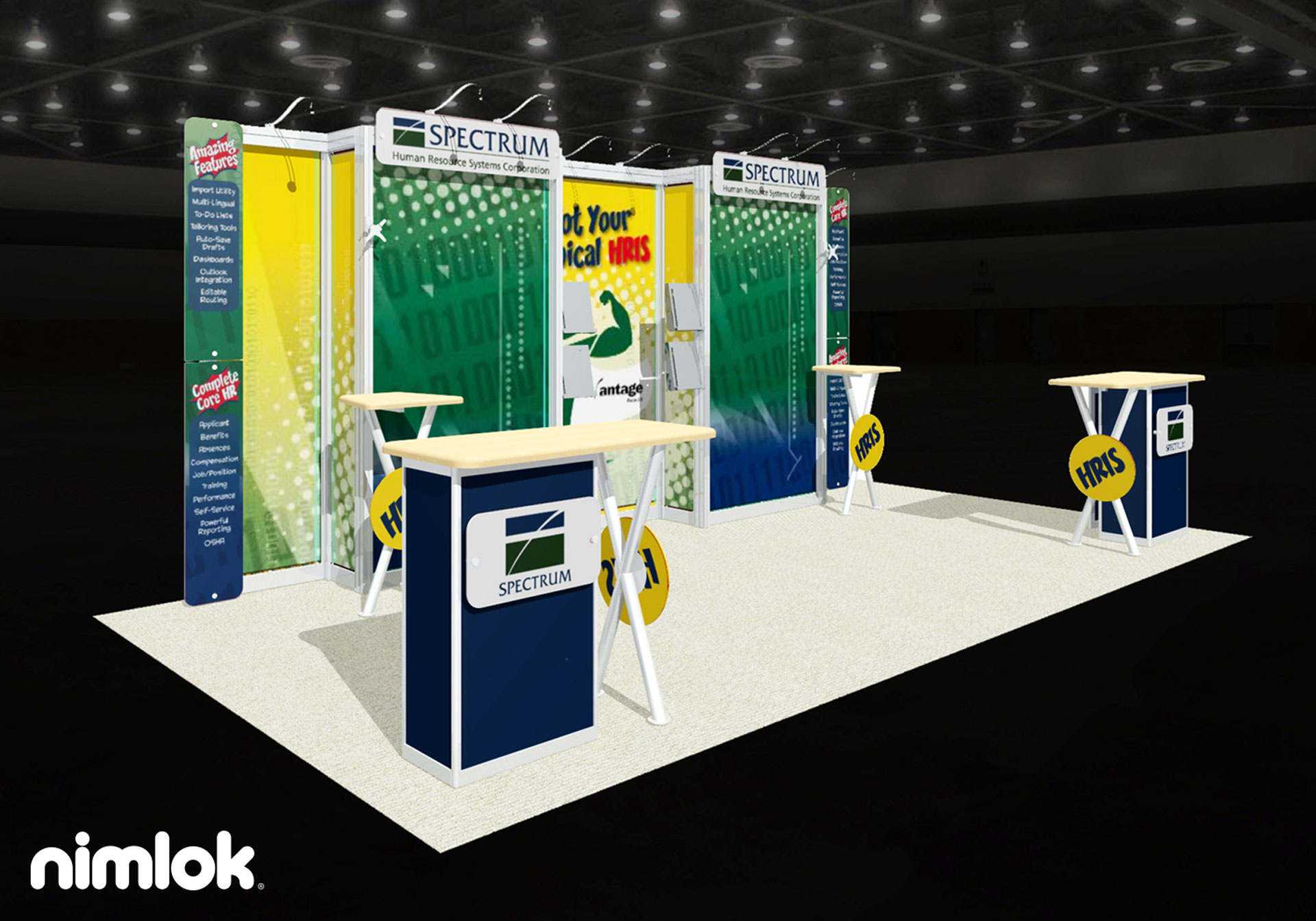 Spectrum - 10x20 - trade show exhibit