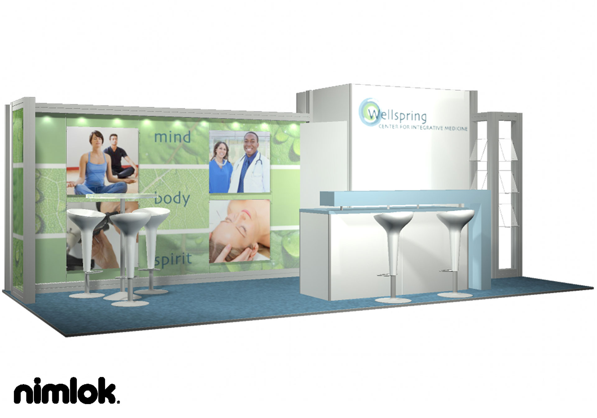 Wellspring - 10x20 - trade show exhibit