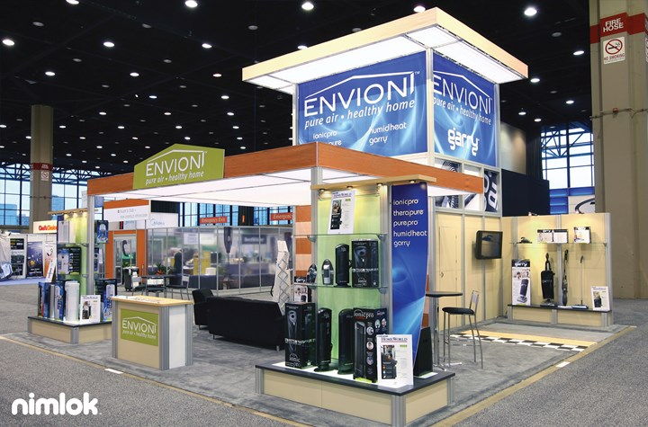 Sylmark/Ideal/ENVION - 30x30 - trade show exhibit