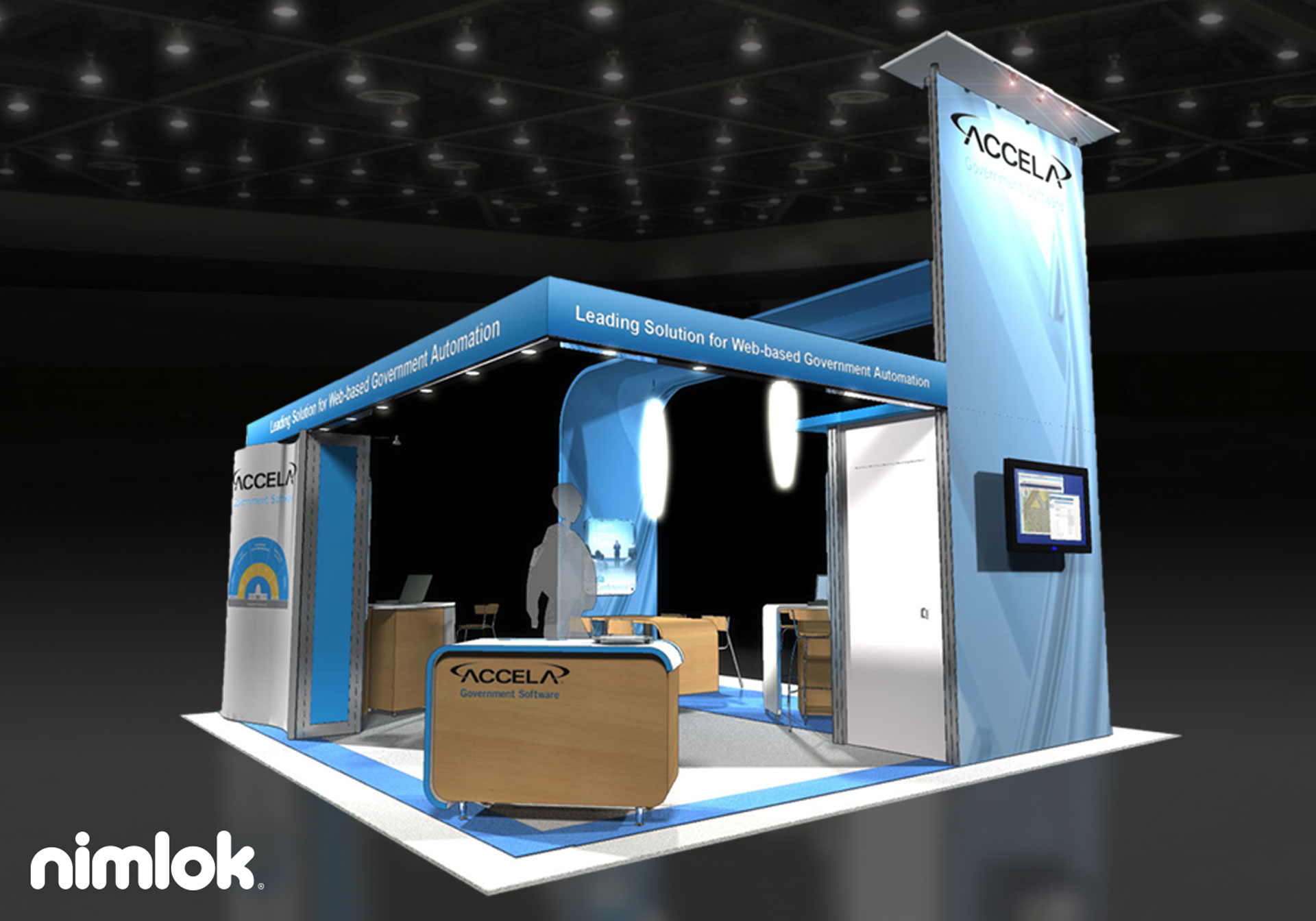Accela - 20x20 - trade show exhibit