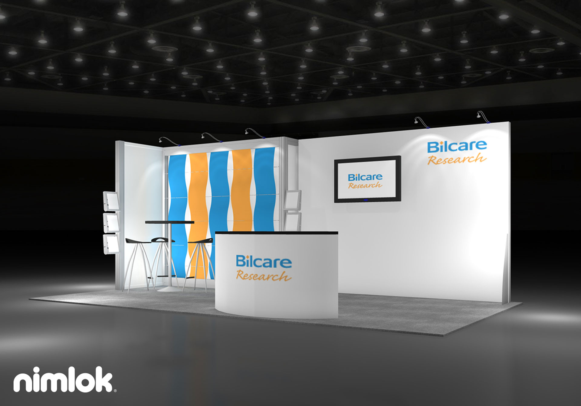 Virtualize IT - 10x20 - trade show exhibit