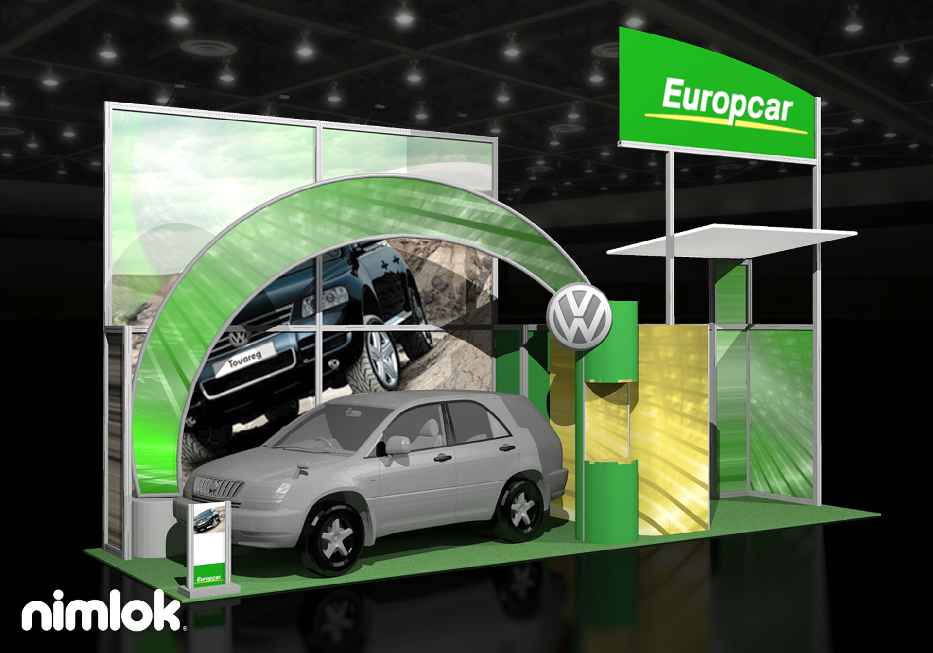 Europcar - 10x30 - trade show exhibit