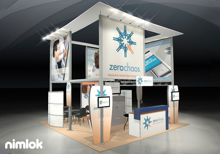 Zero Chaos - 20x20 - trade show exhibit