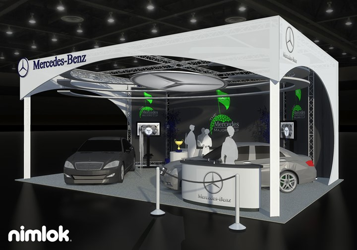 AXIS- Mercedes / Interport / Bayshore - 20x20 - trade show exhibit