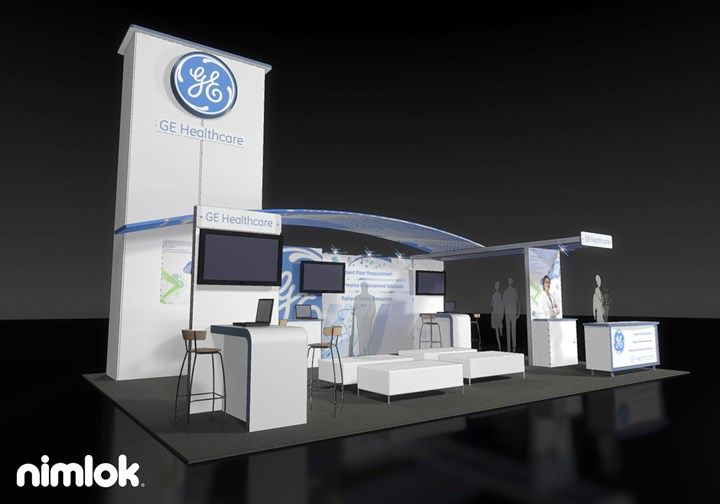 Axis/Event Architects/GE - 20x30 - trade show exhibit