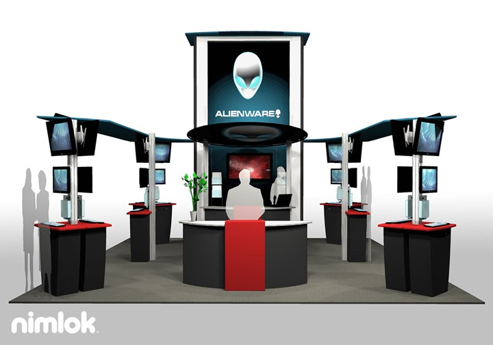 Alienware - 20x20 - trade show exhibit