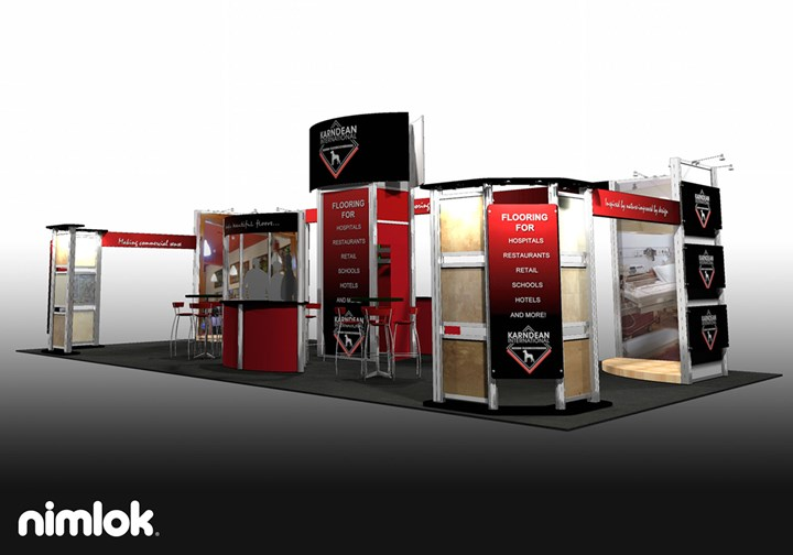 Karndean - 20x40 - trade show exhibit