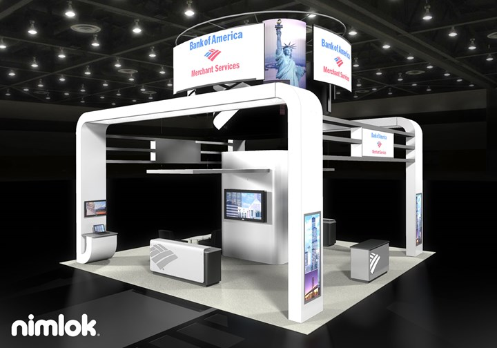 Bank of America  - 20x30 - trade show exhibit