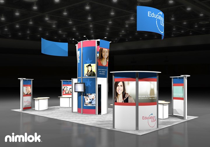 Institute of International Education - 20x40 - trade show exhibit