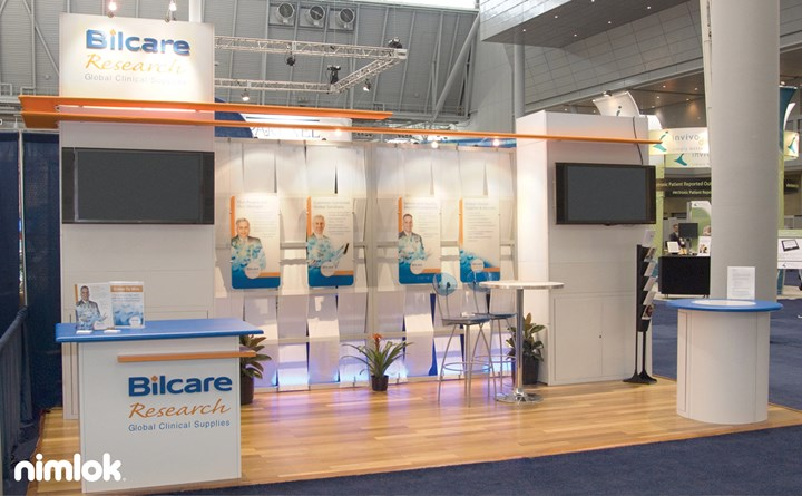 Bilcare - 10x20 - trade show exhibit