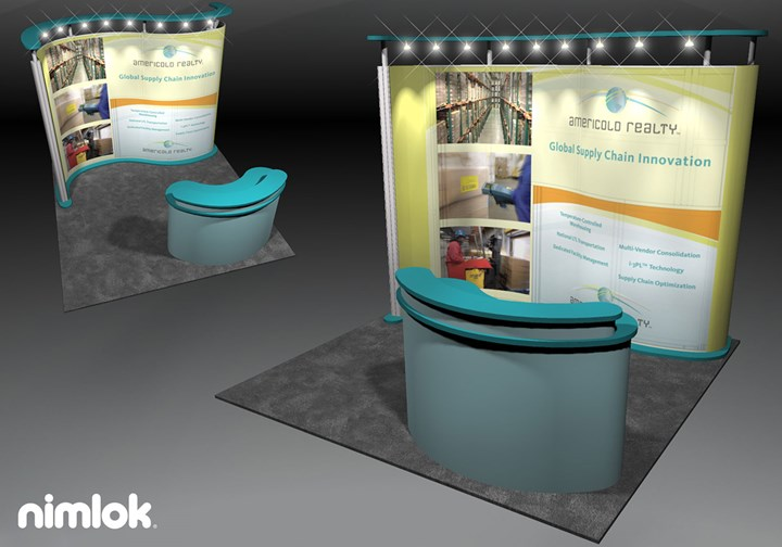 Americold Realty - 10x10 - trade show exhibit