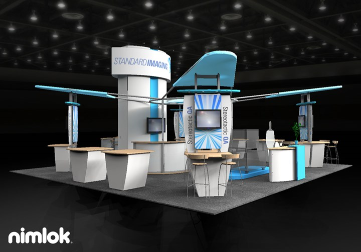 Standard Imaging  - 30x30 - trade show exhibit