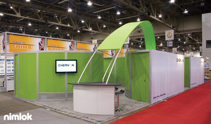 Chervon - 20x50 - trade show exhibit