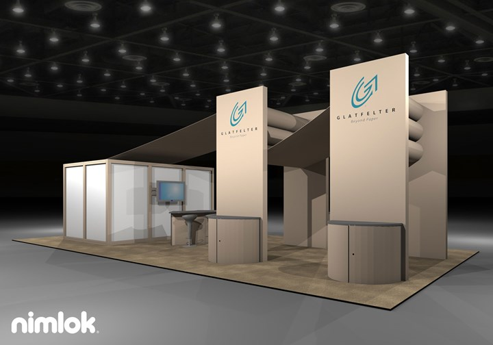 Glatfelter - 20x40 - trade show exhibit