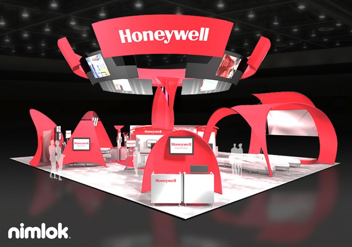 Honeywell Security  - Larger - trade show exhibit
