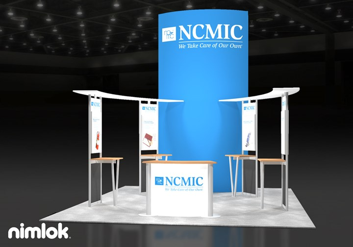 NCMIC - 16x20 - trade show exhibit