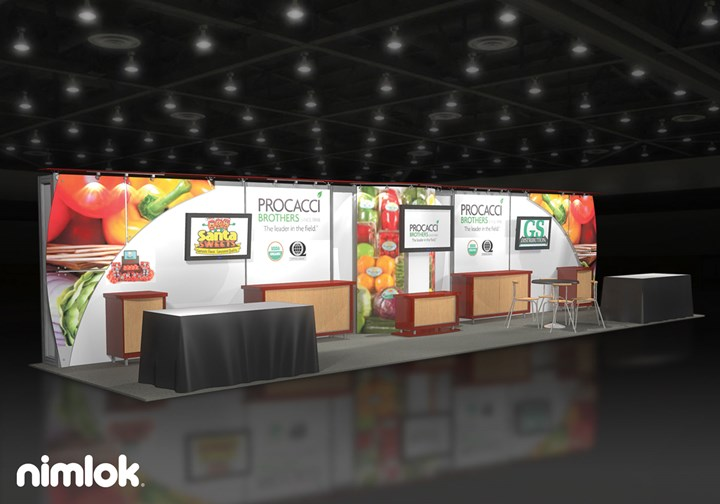 Procacci Brothers - 10x40 - trade show exhibit
