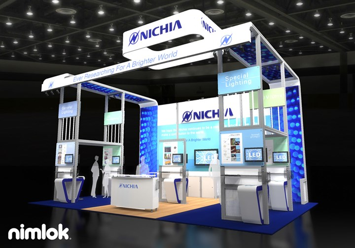 Nichia - 20x30 - trade show exhibit
