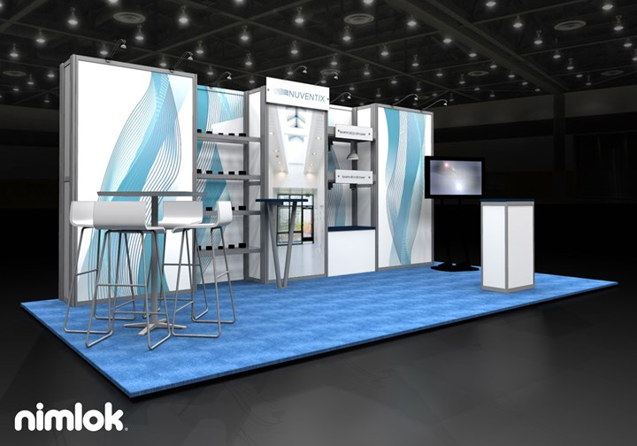 Nuventix  - 10x20 - trade show exhibit