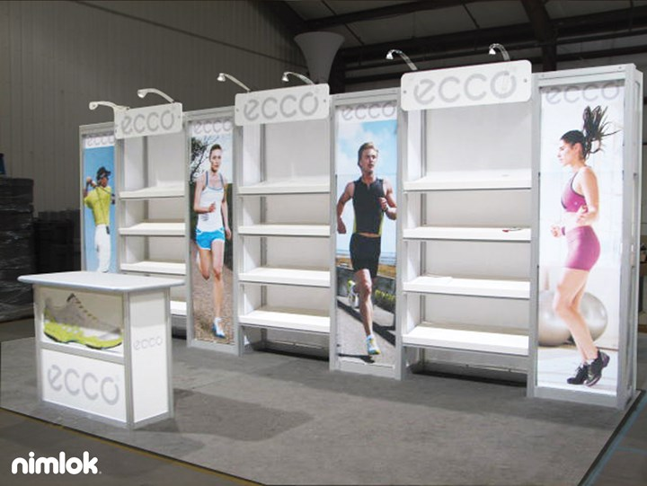 Ecco  - 10x20 - trade show exhibit