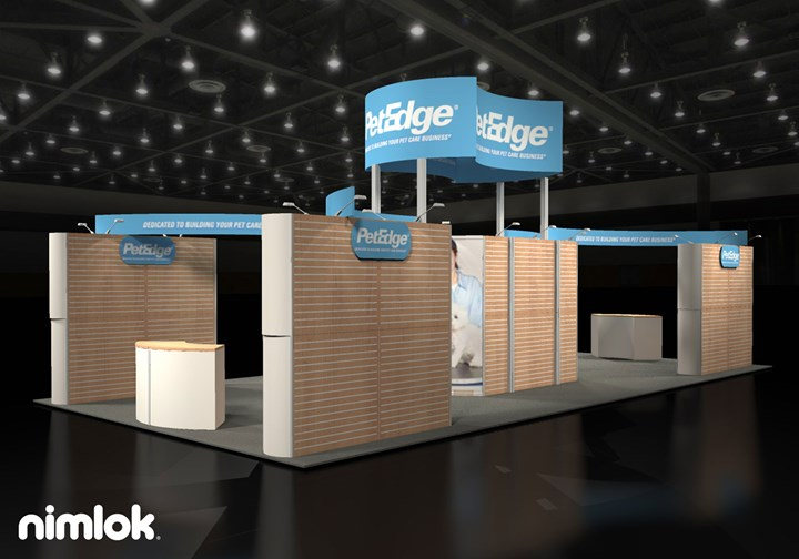 PetEdge - 20x40 - trade show exhibit