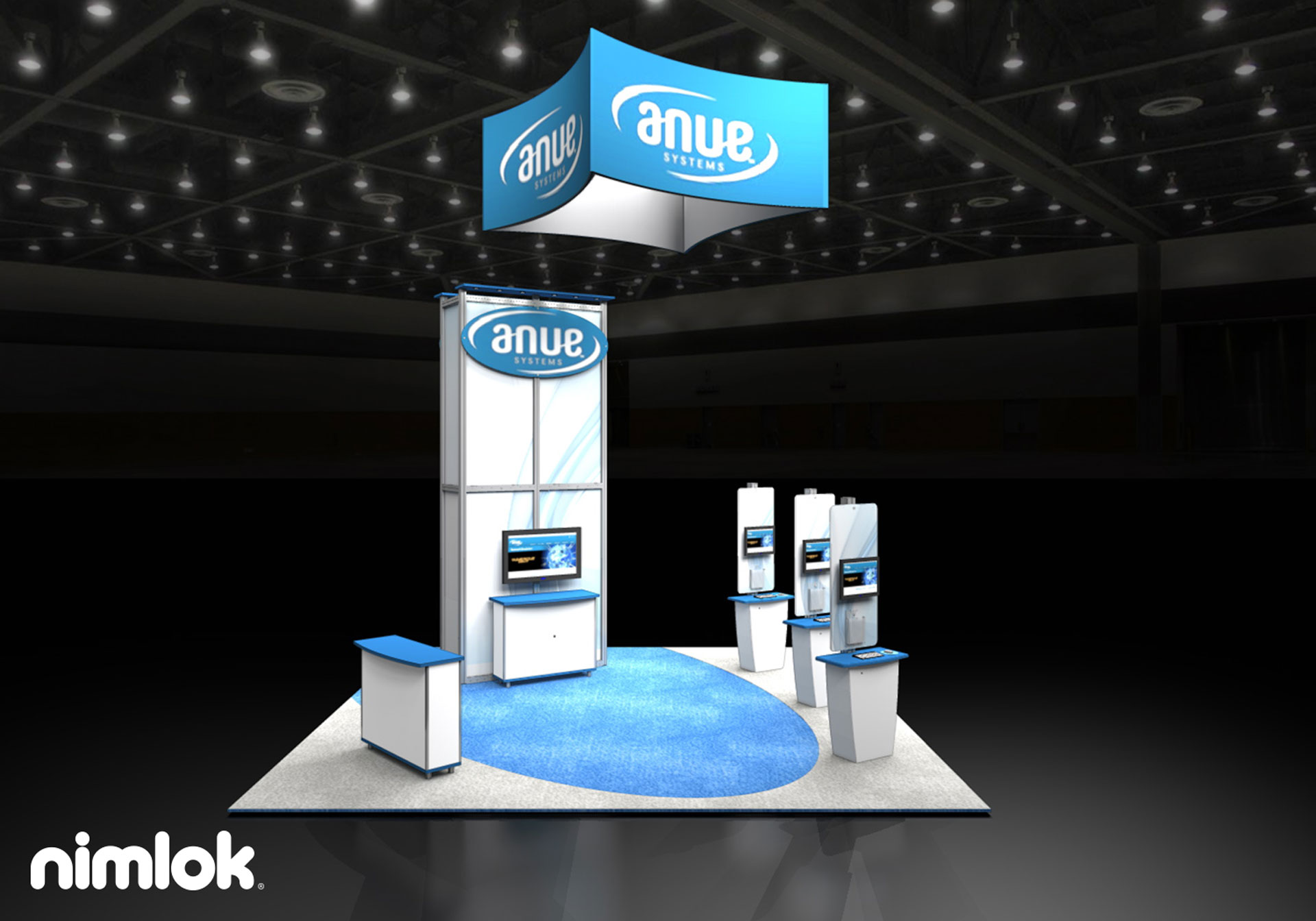 Anue Systems - 20x20 - trade show exhibit