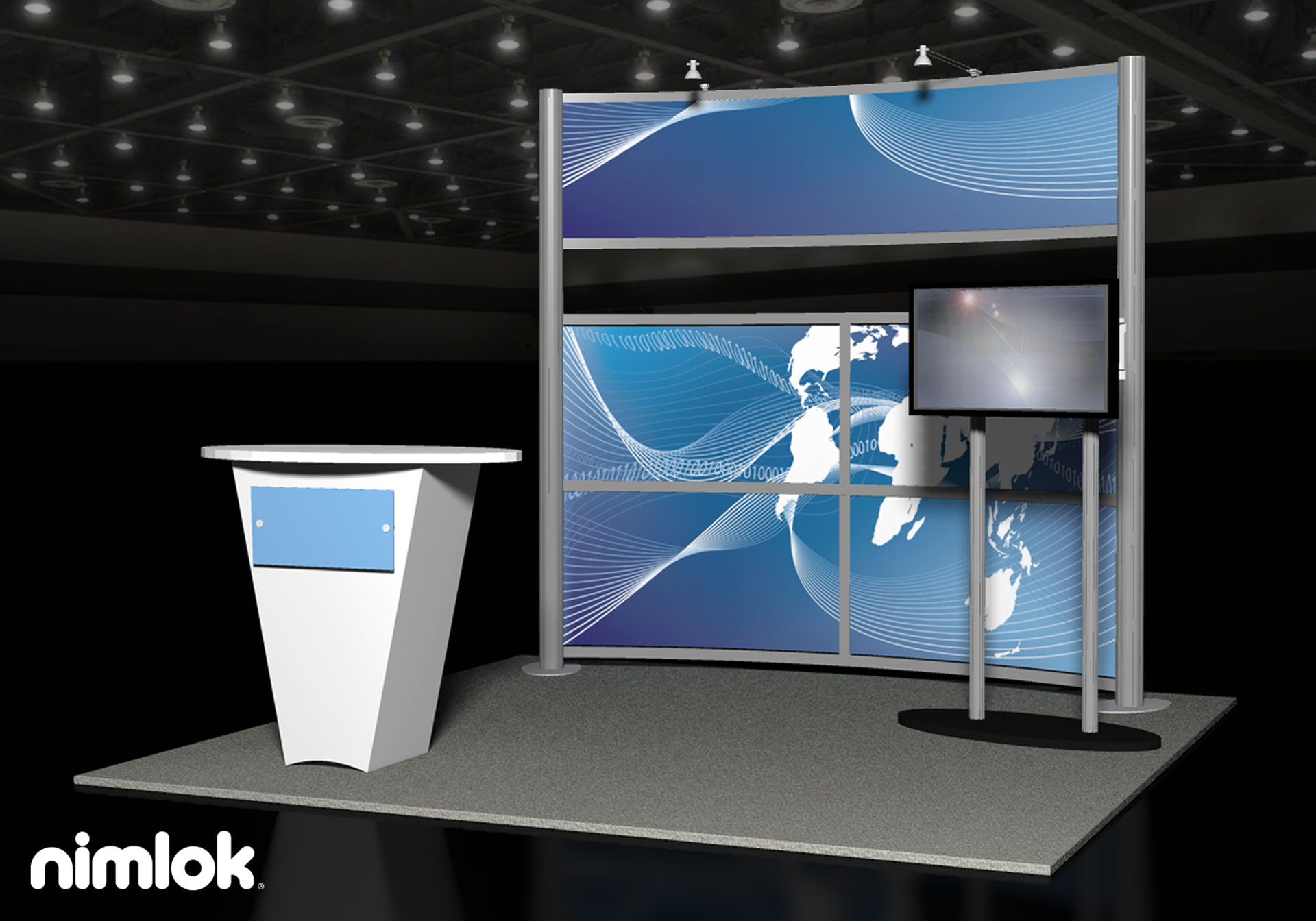 Visial Communications - 10x10 - trade show exhibit