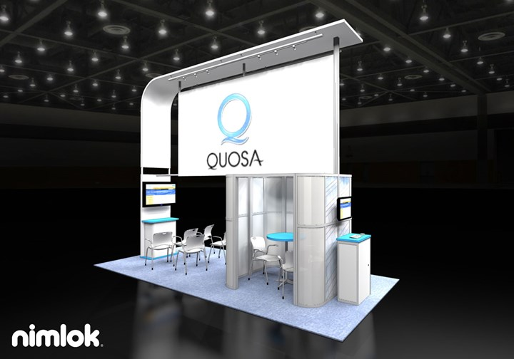 Quosa - 10x20 - trade show exhibit