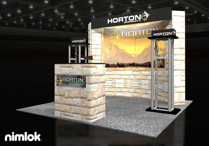 Horton - 10x10 - trade show exhibit