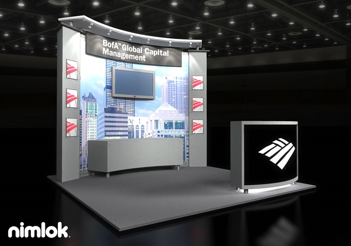 Bank of America  - 10x10 - trade show exhibit