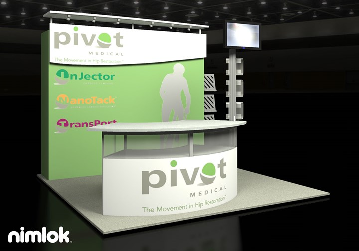Pivot Medical - 10x10 - trade show exhibit
