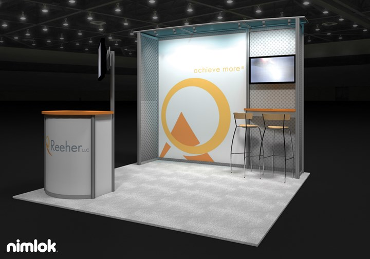 Reeher  - 10x10 - trade show exhibit