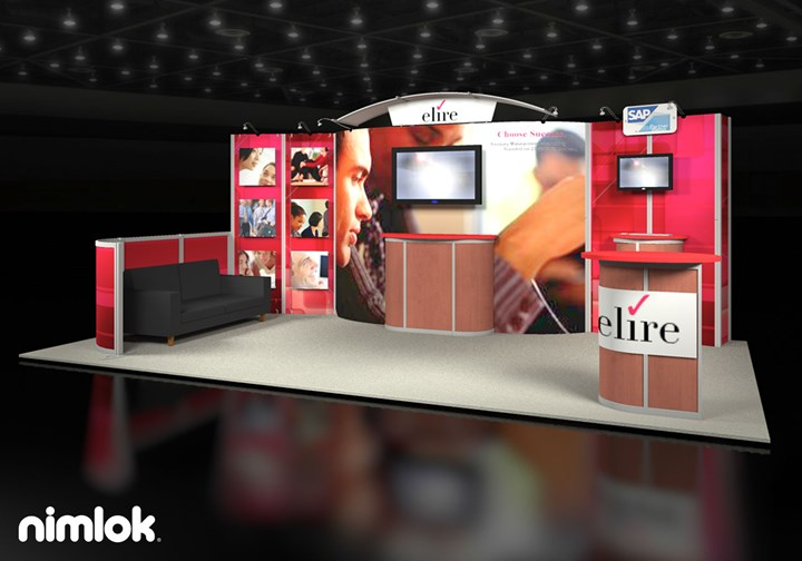 Elire - 10x20 - trade show exhibit