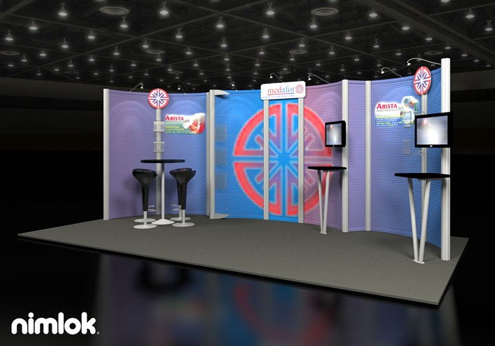 Medafor - 10x20 - trade show exhibit