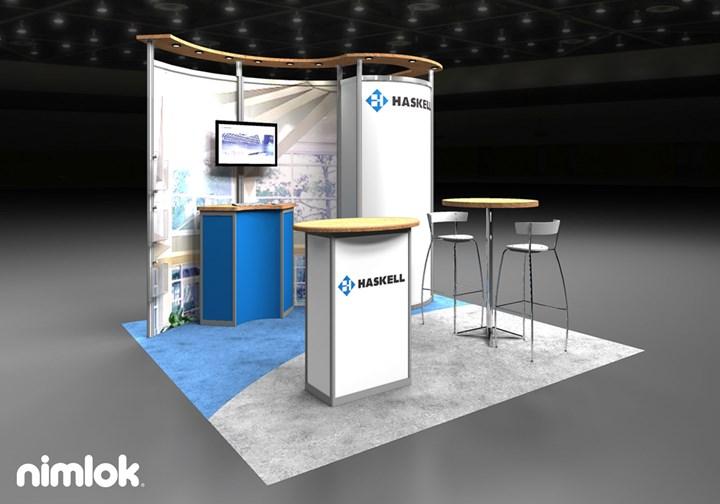 Haskell  - 10x10 - trade show exhibit