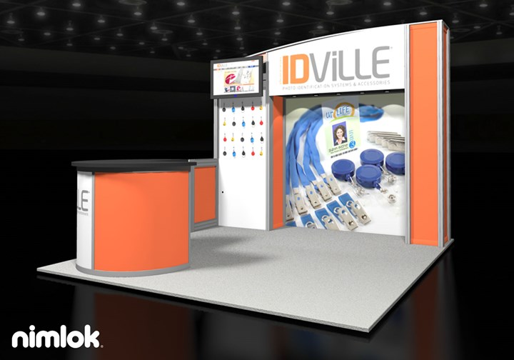 IDville - 10x10 - trade show exhibit