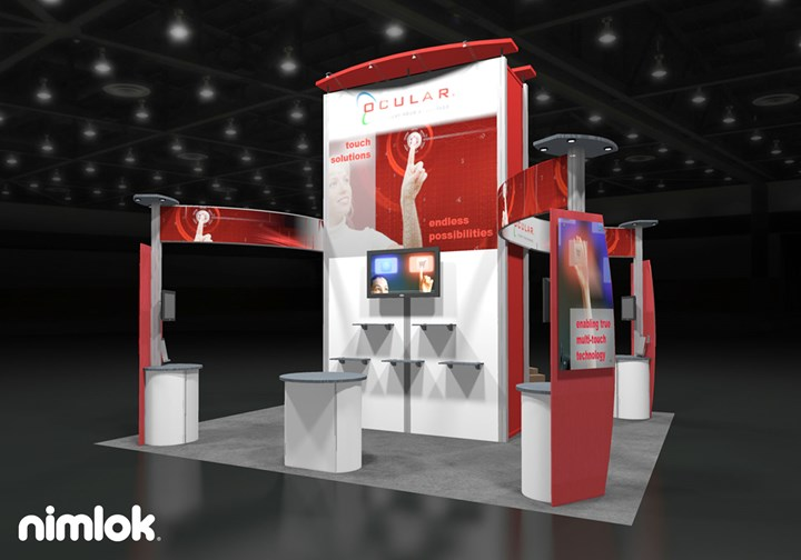 Ocular - 20x20 - trade show exhibit