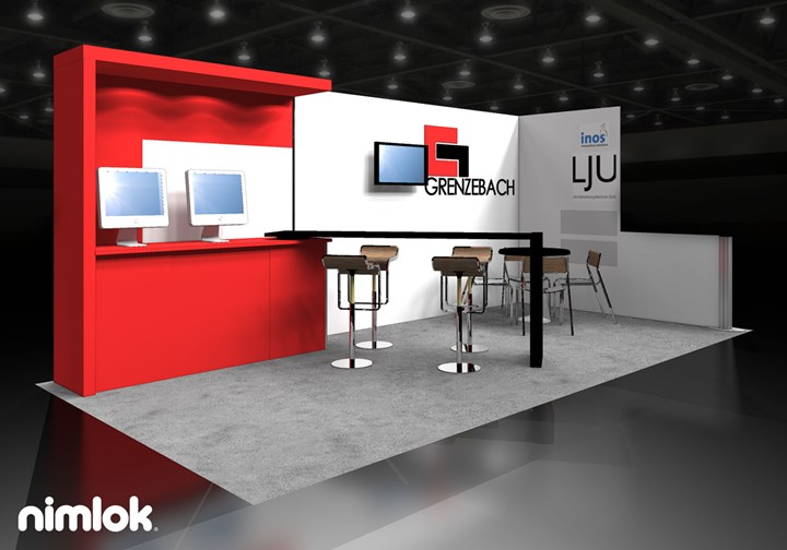 Grenzebach - 10x20 - trade show exhibit