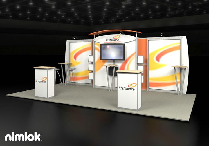 First Source - 10x20 - trade show exhibit