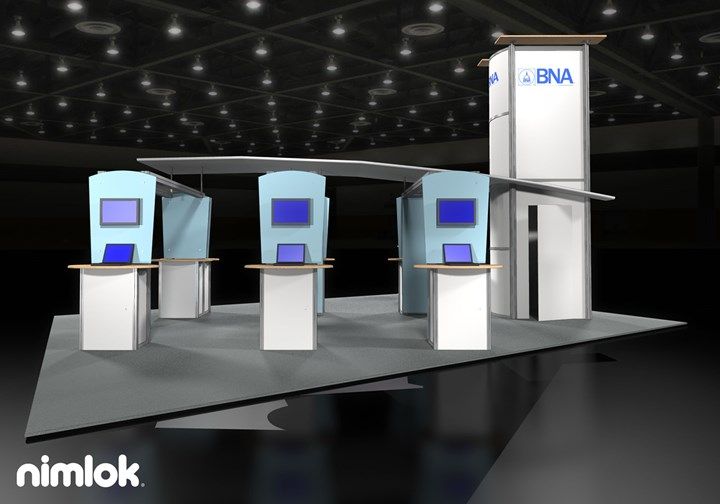 Showtime Graphics  - 20x30 - trade show exhibit
