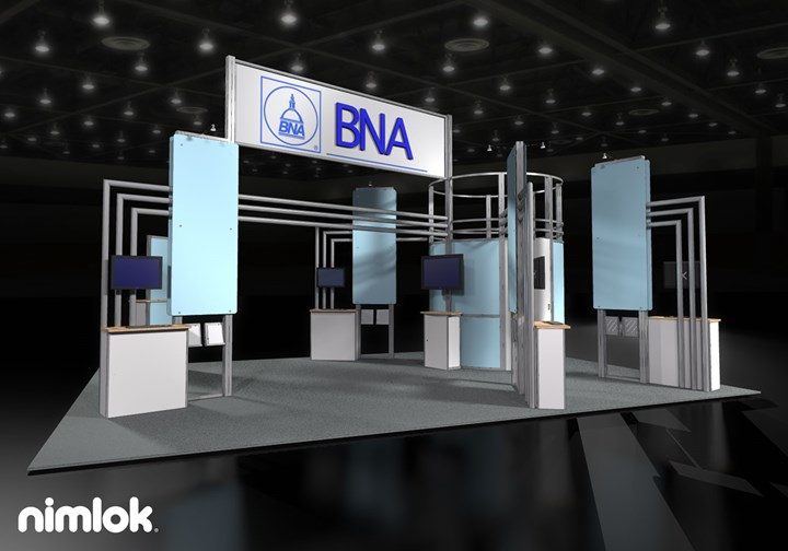 BAN - 20x30 - trade show exhibit