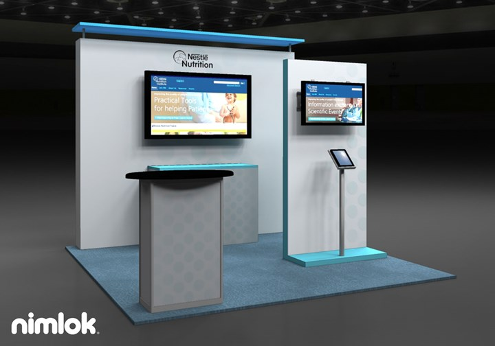 Nestle Nutrition  - 10x10 - trade show exhibit